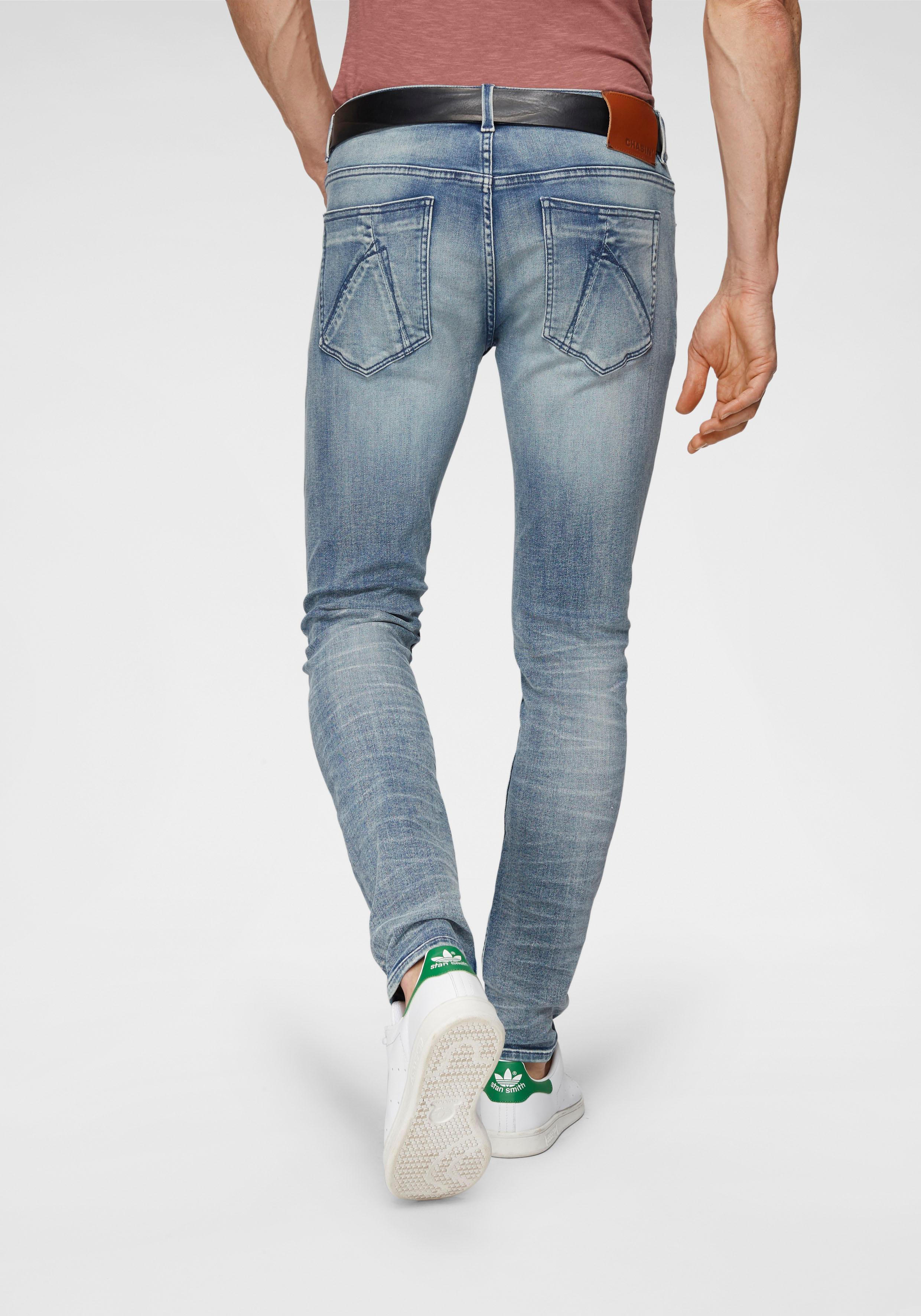 CHASIN´ Slim-fit-Jeans »EGO« | Bekleidung > Jeans > Sonstige Jeans | Blau | Jeans | CHASIN´
