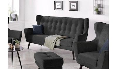 andas 3-Sitzer »Hemmink«, mit Knopfheftung kaufen