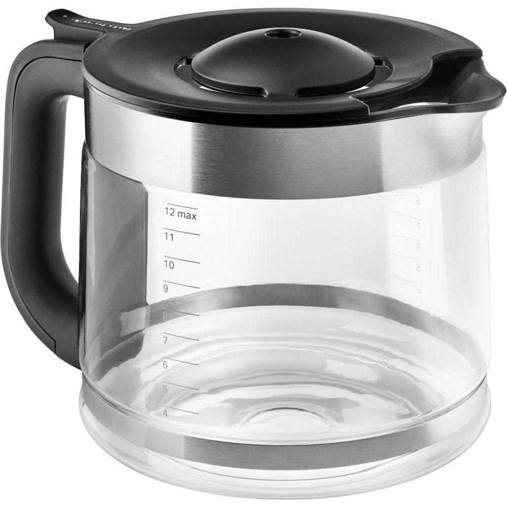 KitchenAid Filterkaffeemaschine »5KCM1208EWH«, CLASSIC Drip-Kaffeemaschine mit spiralförmigem Wasserauslass