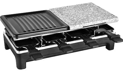 Team Kalorik Raclette TKG RAC 1016, 8 Raclettepfännchen, 1500 Watt kaufen