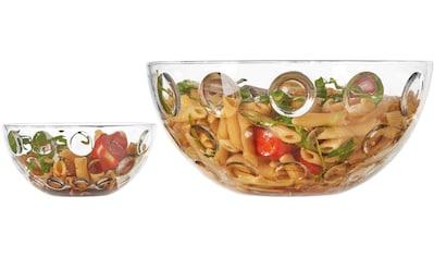 "LEONARDO Schale ""Cucina Optic"", Glas, (5 - tlg.) kaufen"