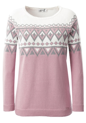 Casual Looks Pullover mit Norwegermuster kaufen