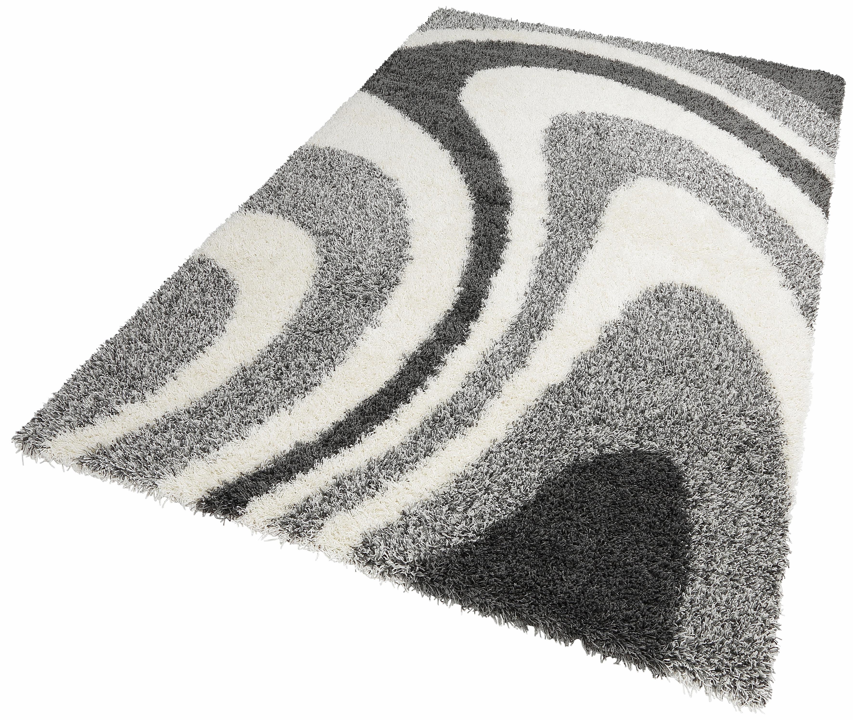 Hochflor-Teppich LOIR merinos rechteckig Höhe 50 mm maschinell gewebt