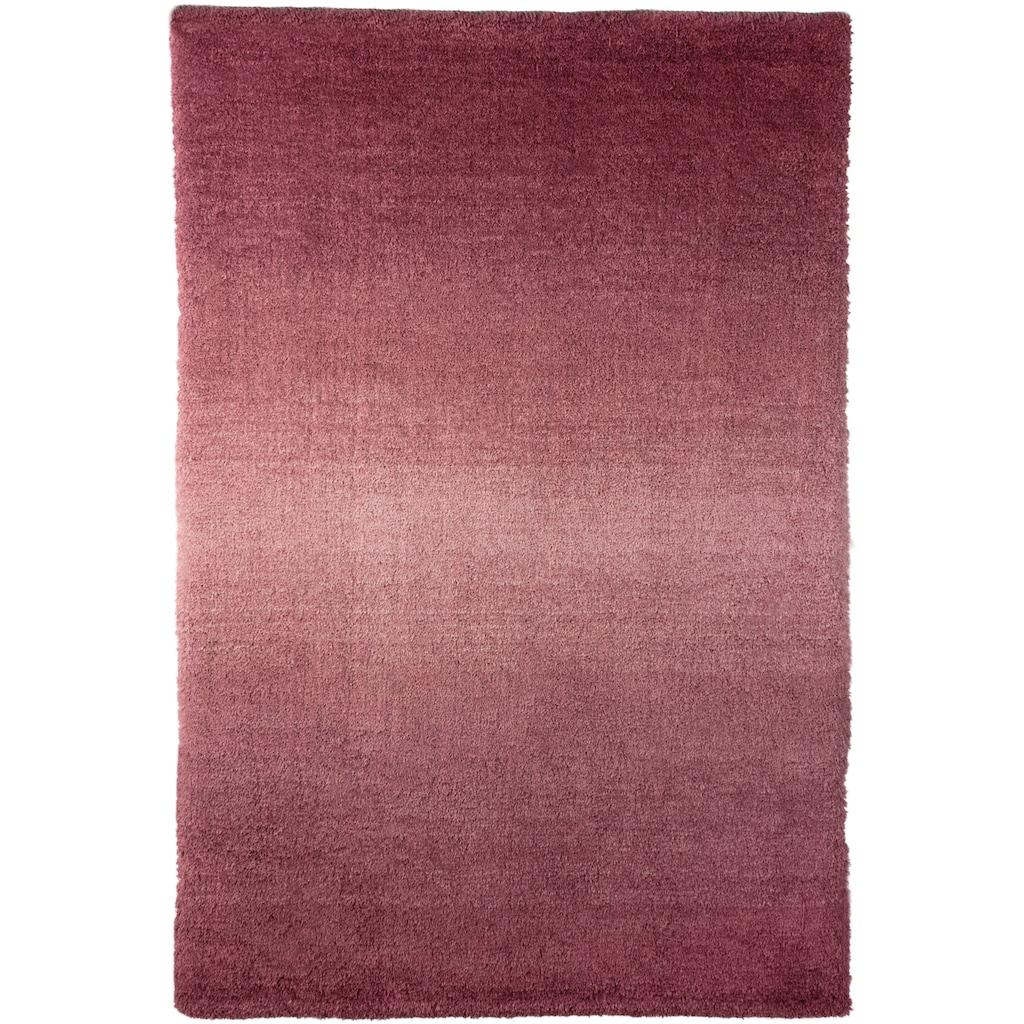 Trendline Teppich »Sunrise«, rechteckig, 20 mm Höhe, mit modernem Farbverlauf, extra weich und flauschig, Wohnzimmer