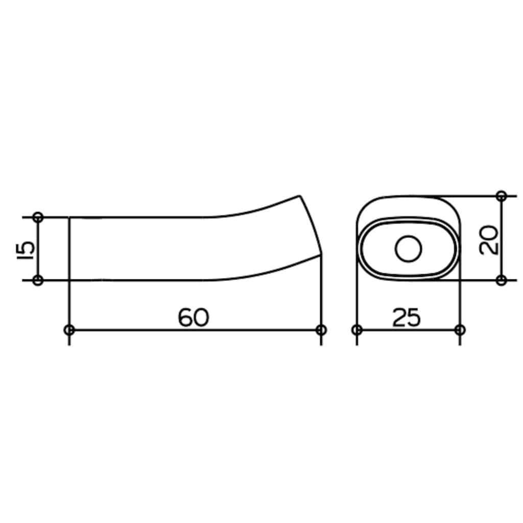 Keuco Handtuchhaken »Edition 400«, verchromt, rostfrei