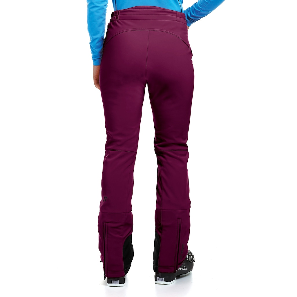 Maier Sports Skihose »Marie«, Slim fit, Softshell, elastisch, winddicht
