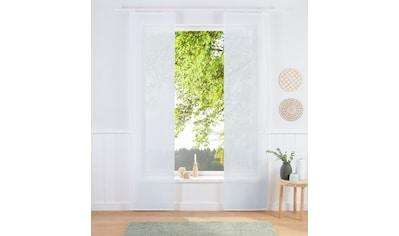 Schiebegardine, »Regina«, my home, Klettschiene 2 Stück kaufen