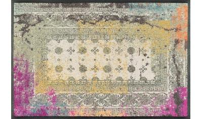wash+dry by Kleen-Tex Fußmatte »Taza«, rechteckig, 7 mm Höhe, Schmutzfangmatte kaufen