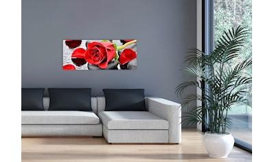 """Marmony Infrarotwandheizung »MOTIV-Heizkörper """"Red Roses"""" 830017, 800 Watt«, aus... kaufen"""