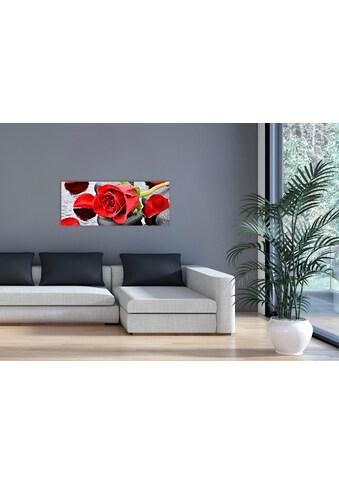 """Marmony Infrarotwandheizung »MOTIV-Heizkörper """"Red Roses"""" 830017, 800 Watt«, trocknet... kaufen"""