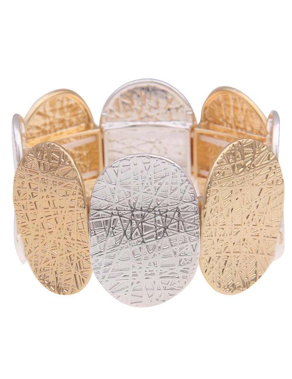 leslii Armband, in tollem Bicolor-Design goldfarben Damen Armband Armbänder Schmuck 4250980395115