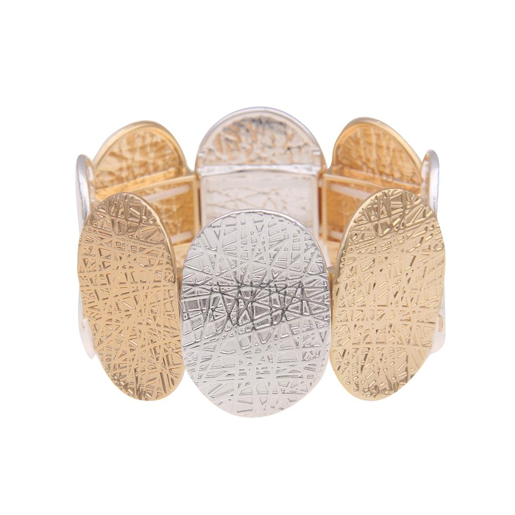 leslii Armband, in tollem Bicolor-Design