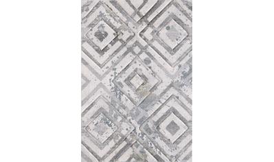 Sanat Teppich »Lorena 2906«, rechteckig, 13 mm Höhe, handgearbeiteter Konturenschnitt, Wohnzimmer kaufen