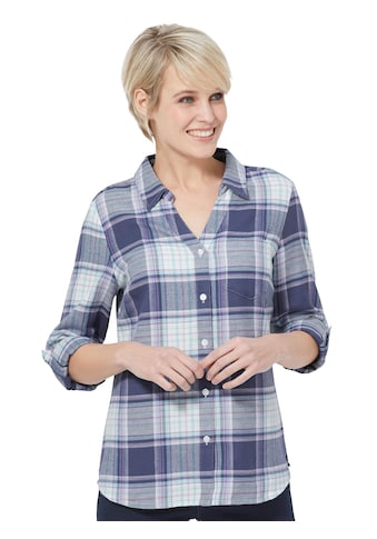 Casual Looks Bluse in Flanell - Qualität kaufen