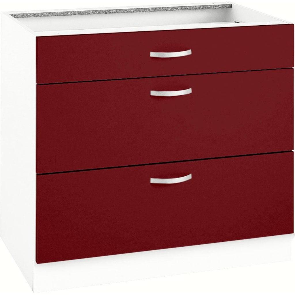wiho Küchen Unterschrank »Flexi«, Breite 90 cm