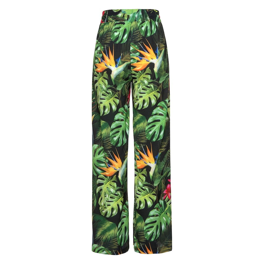 Aniston by BAUR Schlupfhose, mit Tropical Print