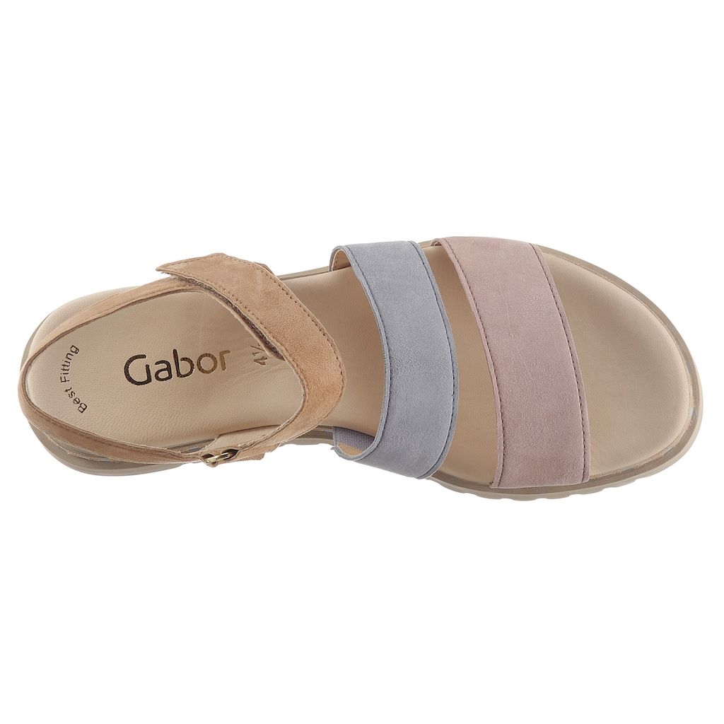 Gabor Sandalette, in modischen Pastelltönen