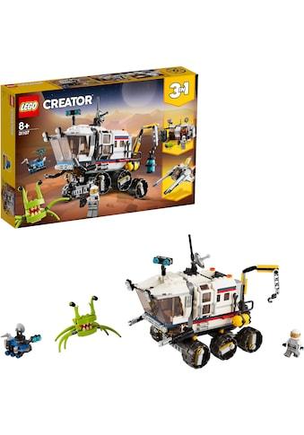 LEGO® Konstruktionsspielsteine »Planeten Erkundungs-Rover (31107), LEGO® Creator... kaufen
