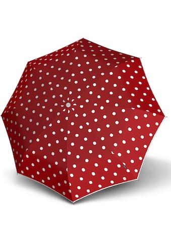 Knirps® Taschenregenschirm »T.200 Medium Duomatic, Dot Art Red« kaufen
