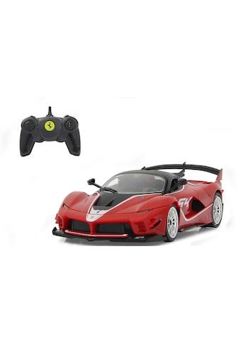 "Jamara Modellbausatz ""Ferrari FXX K Evo 1:18, rot  -  2,4 GHz"", Maßstab 1:18 kaufen"