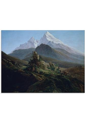 Artland Glasbild »Der Watzmann. Um 1824« kaufen