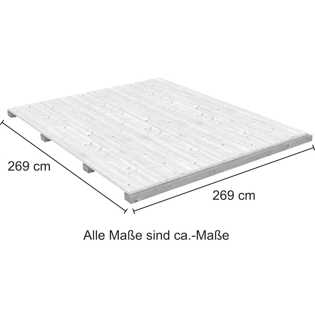 Fußboden für Gartenhäuser »Novia«, BxT: 269x269 cm