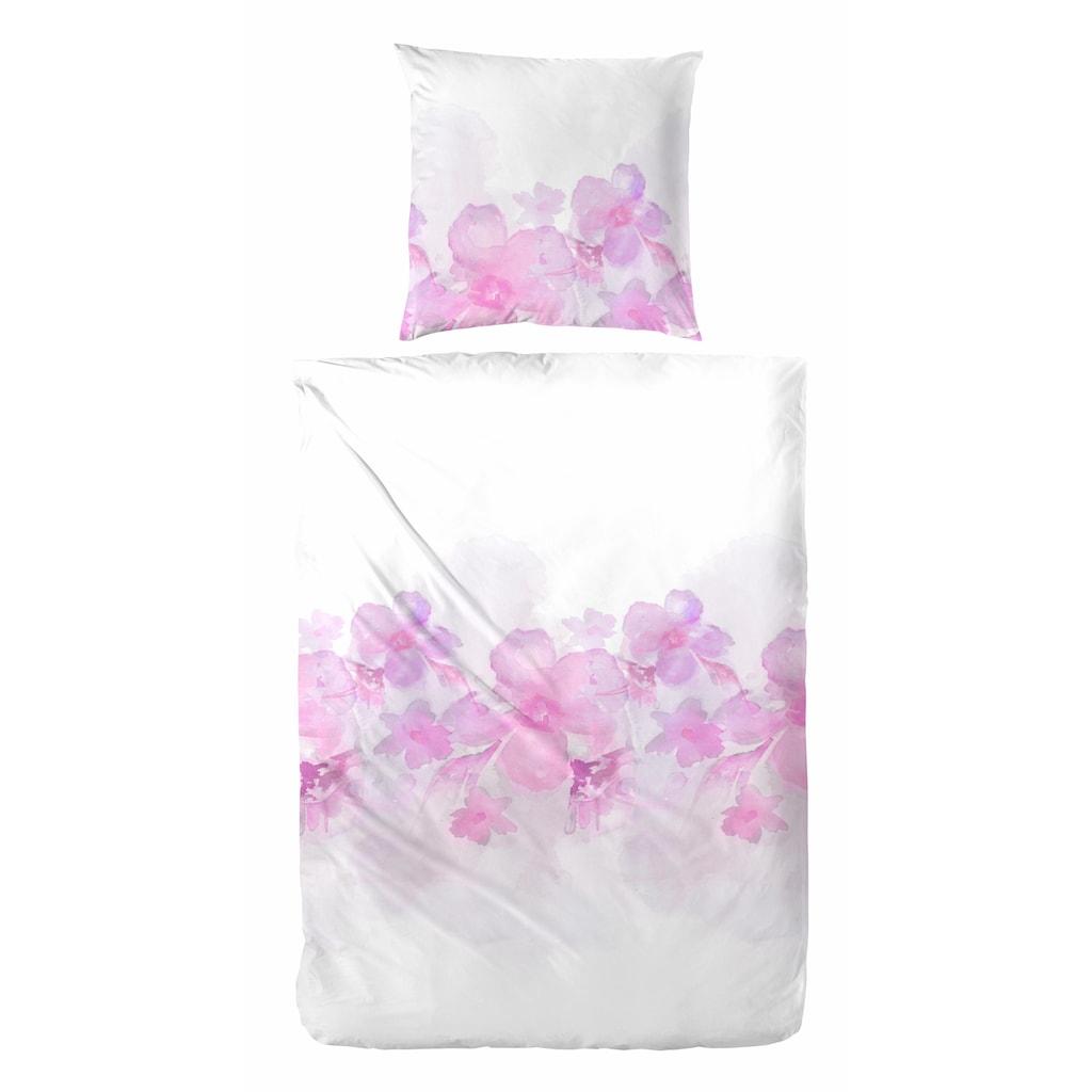 Primera Bettwäsche »Zelis«, mit romantischen Blumen