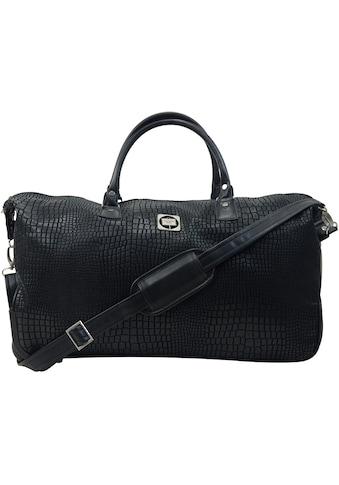 Hauptstadtkoffer Reisetasche »Tiergarten, 56 cm, schwarz«, mit 2 Rollen kaufen