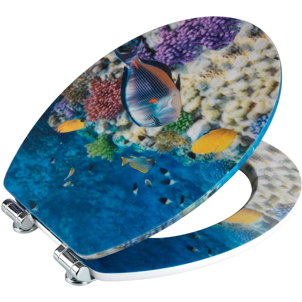 WENKO WC-Sitz »Fish«