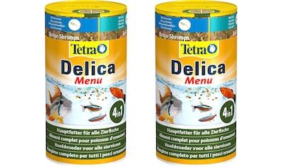 Tetra Fischfutter »Delica Menu«, Flockenfutter 2x100 ml kaufen