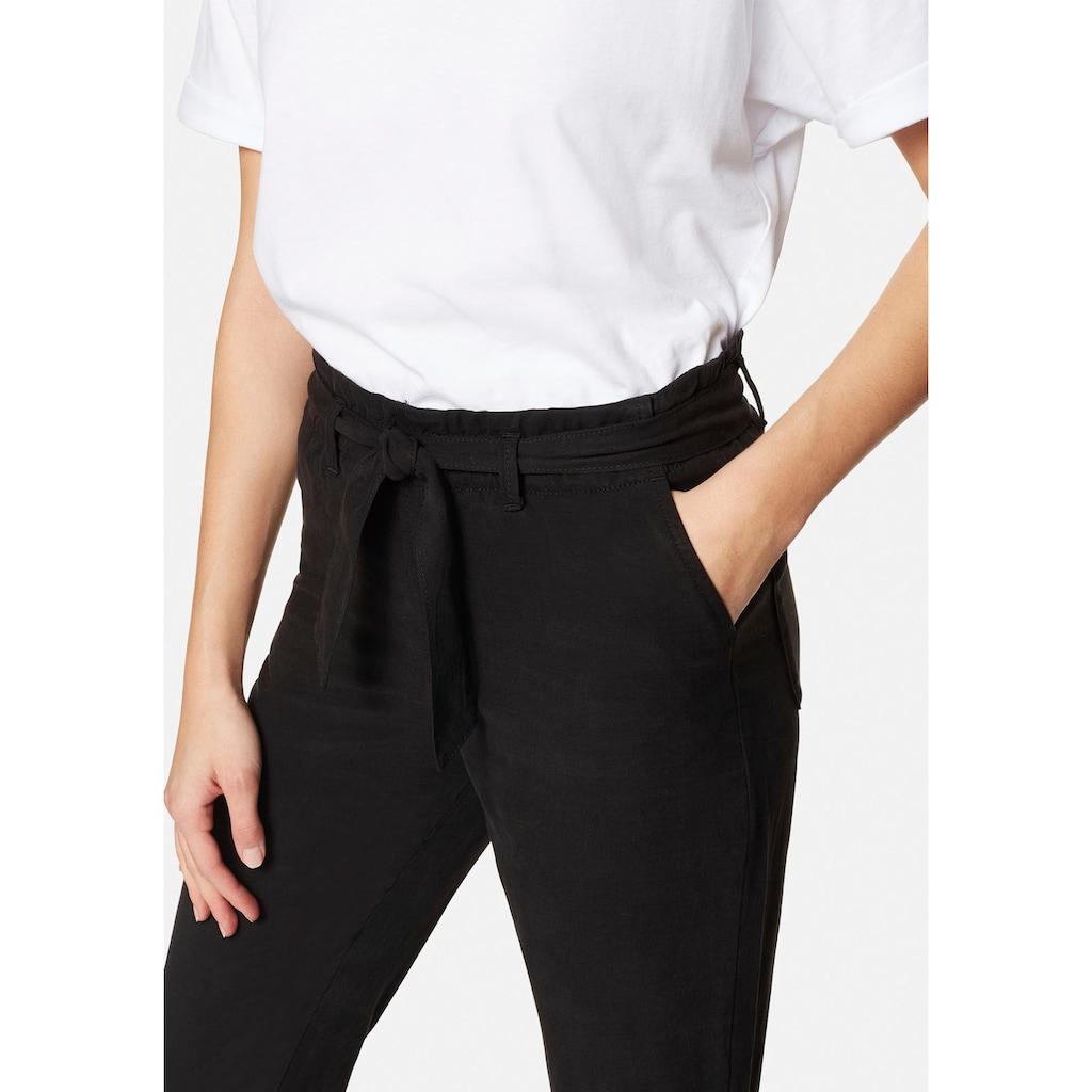 Mavi Schlupfhose »PANTS WITH BELT«, mit elastischen Bund und passenden Bindegürtel
