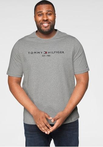 Tommy Hilfiger Big & Tall T - Shirt »BIG & TALL TOMMY LOGO TEE« kaufen