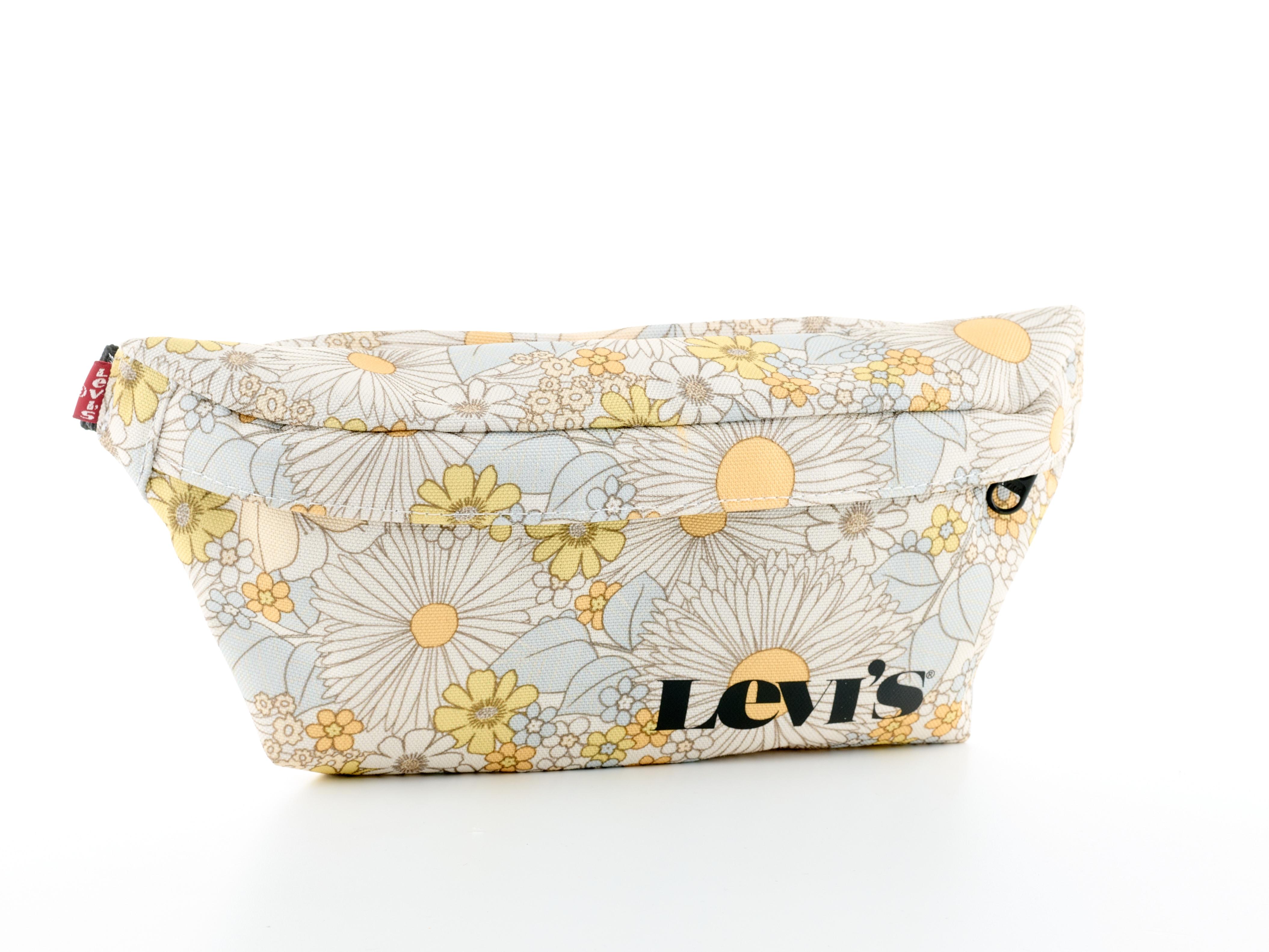 levis - Levi's Bauchtasche Women's Small Banana Sling - Vintage Modern Logo, mit Blumenmuster