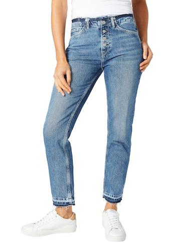 Pepe Jeans 7/8-Jeans »MARY REVIVE«, mit leicht ausgefranstem Saum kaufen