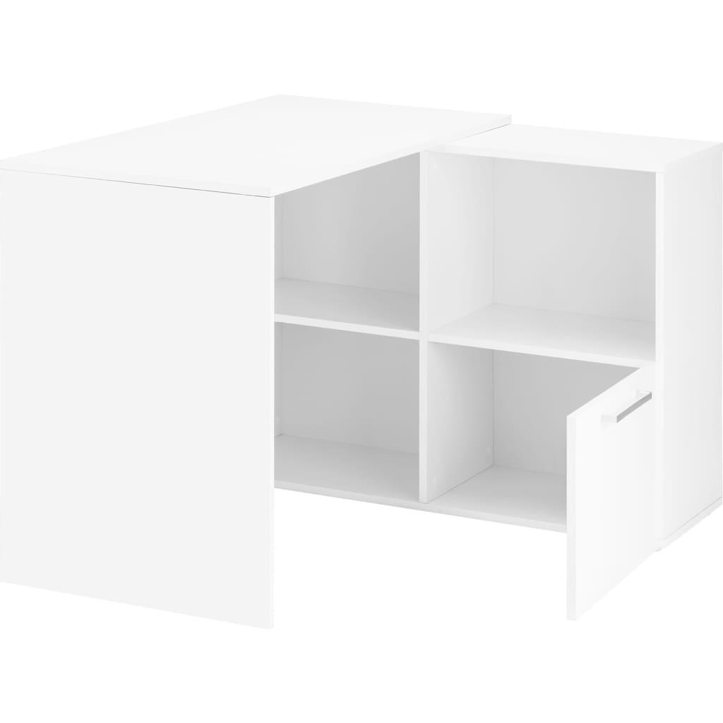 borchardt Möbel Eckschreibtisch »Nick«, Breite Gerade: 164 bzw. Eck: 92 cm