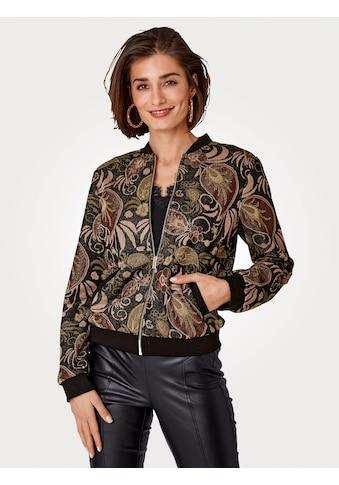 Mona Blouson, aus Strickjacquard kaufen