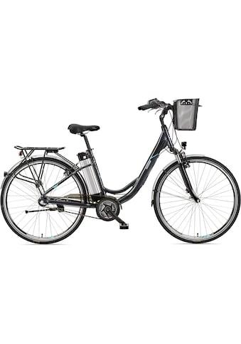 Telefunken E-Bike »Multitalent RC865«, 3 Gang, Shimano, Nexus, Mittelmotor 250 W, mit Fahrradkorb kaufen
