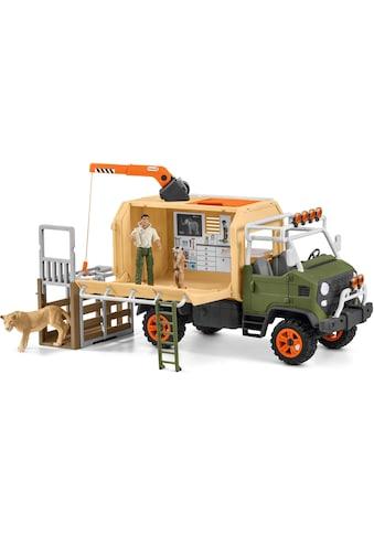 Schleich® Spielwelt »Wild Life, Großer Truck Tierrettung (42475)«, Made in Europe kaufen