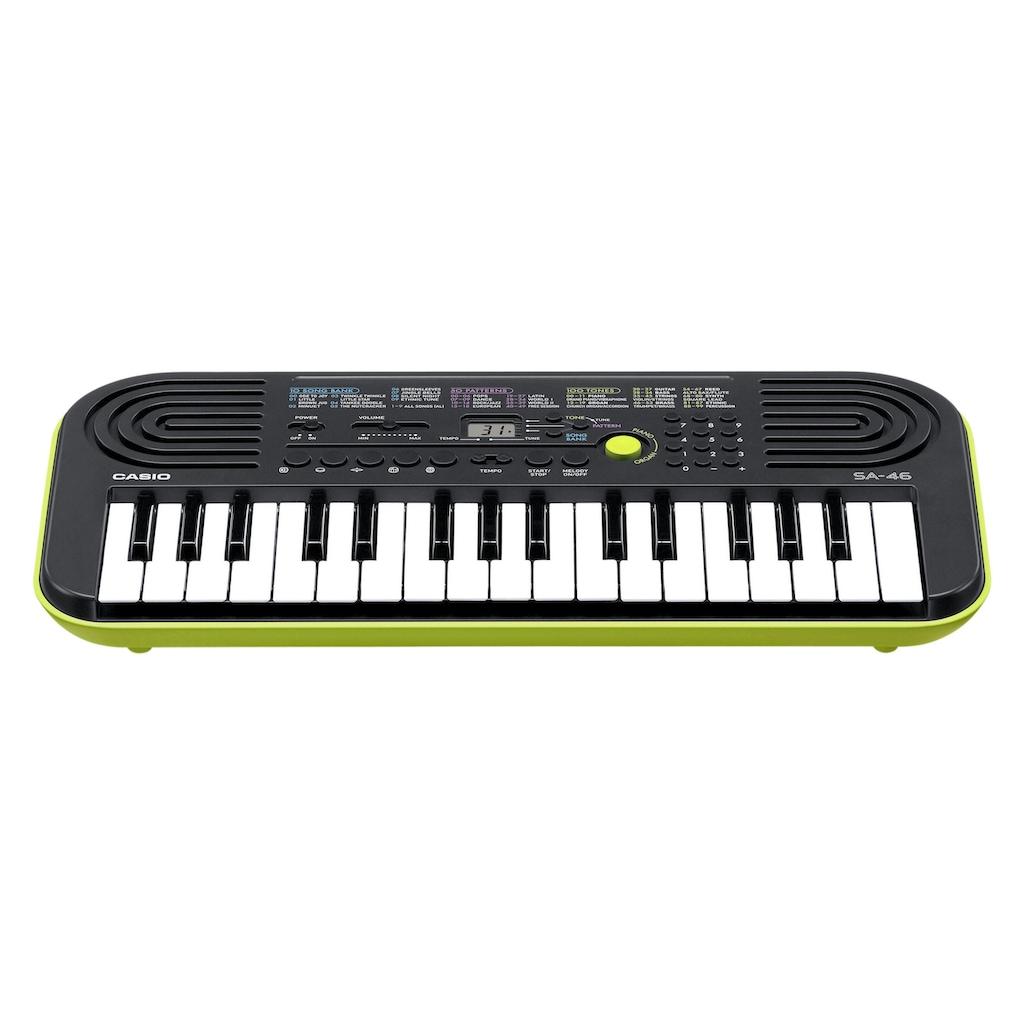 CASIO Keyboard »Mini-Keyboard SA46«, mit Umschaltknopf für Piano-/Orgelsound