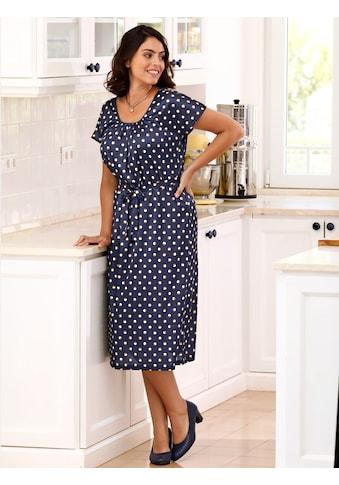 m. collection Jerseykleid, in gepunktetem Design kaufen