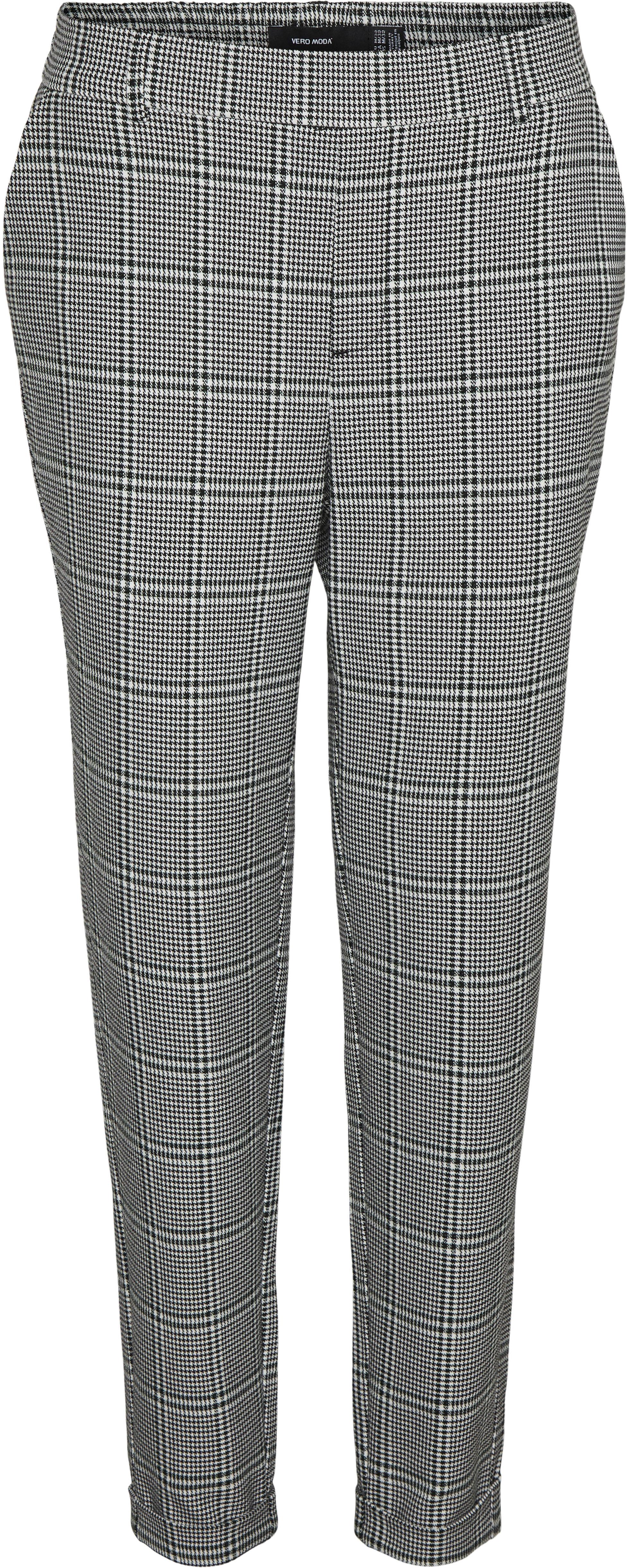 vero moda -  Anzughose VMMAYA MR LOOSE KIA CHECK PANT