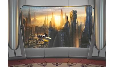 KOMAR Set: Fototapete »Star Wars Coruscant View«, Ausgezeichnet lichtbeständig kaufen