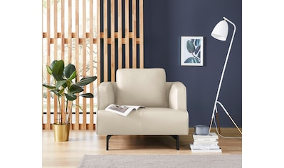 hülsta sofa Sessel »hs.440«, wahlweise in Stoff oder Leder, Spangenfüße umbragrau kaufen