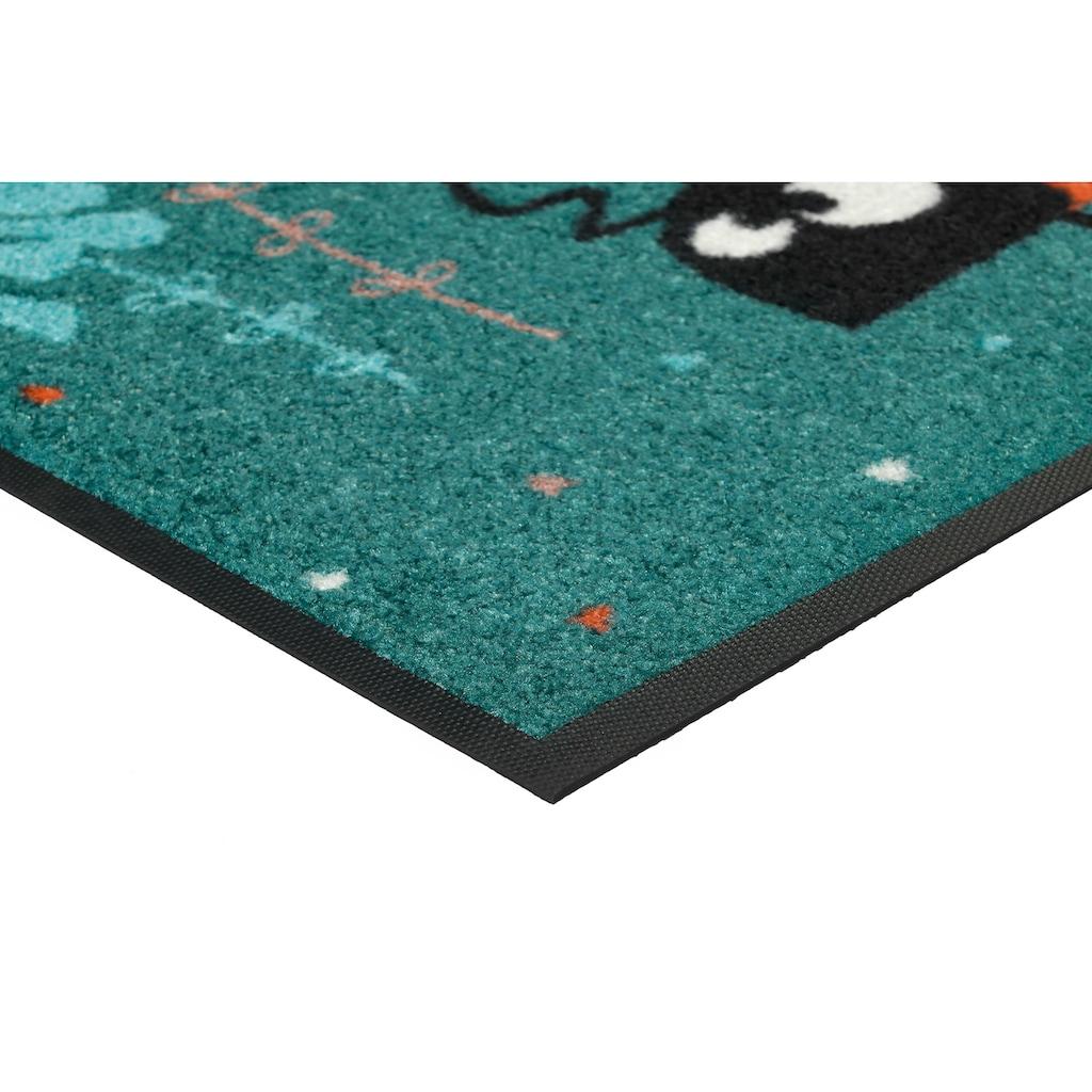 wash+dry by Kleen-Tex Fußmatte »Lise & Morten«, rechteckig, 7 mm Höhe, Schmutzfangmatte, In- und Outdoor geeignet, waschbar