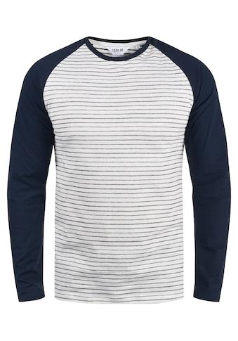 Solid Langarmshirt »Stepan« kaufen