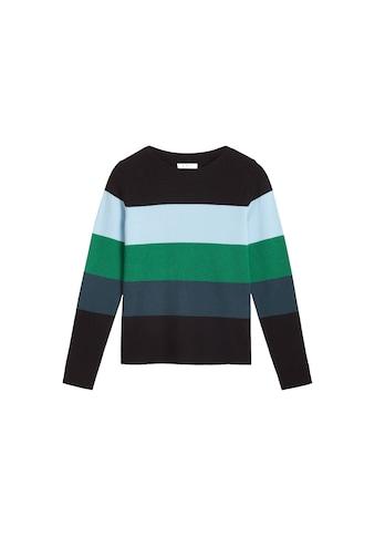 Sandwich Colour Blocking Pullover kaufen
