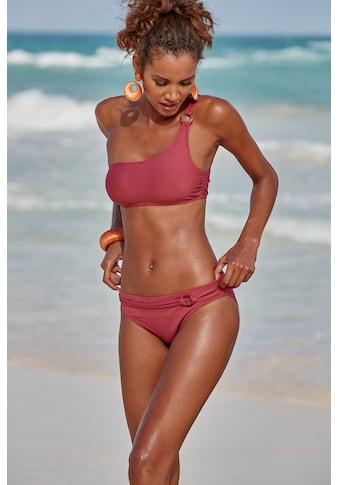 s.Oliver Beachwear Bustier-Bikini-Top »Rome«, mit One-Shoulder-Form kaufen