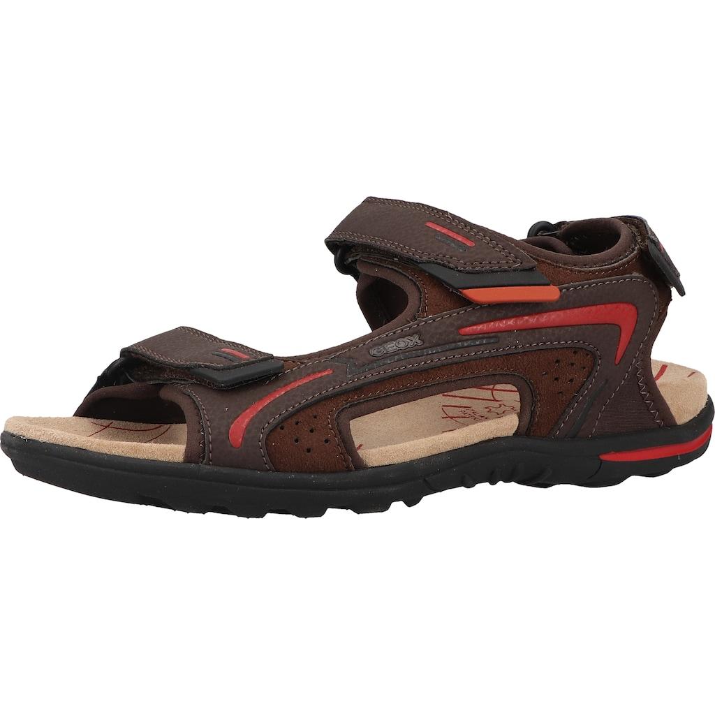 Geox Sandale »Lederimitat/Textil«
