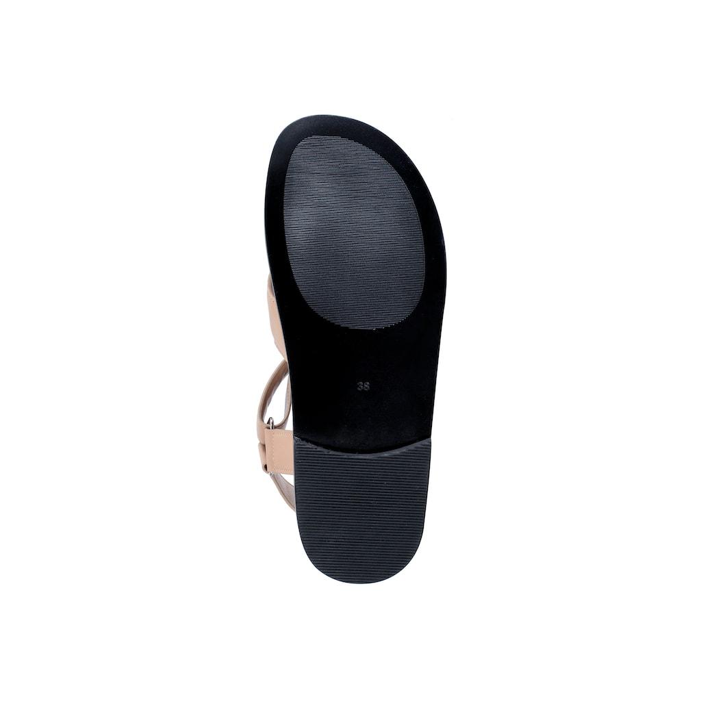 ekonika Sandale »Portal«, aus echtem Leder