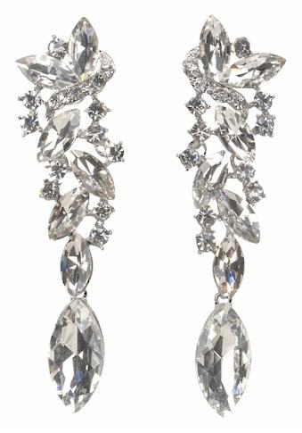 J.Jayz Paar Ohrstecker »Glamouröses Design«, (1 tlg.), mit großen funkelnden Glassteinen kaufen